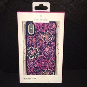 Vera Bradley iPhone X Quilted Case